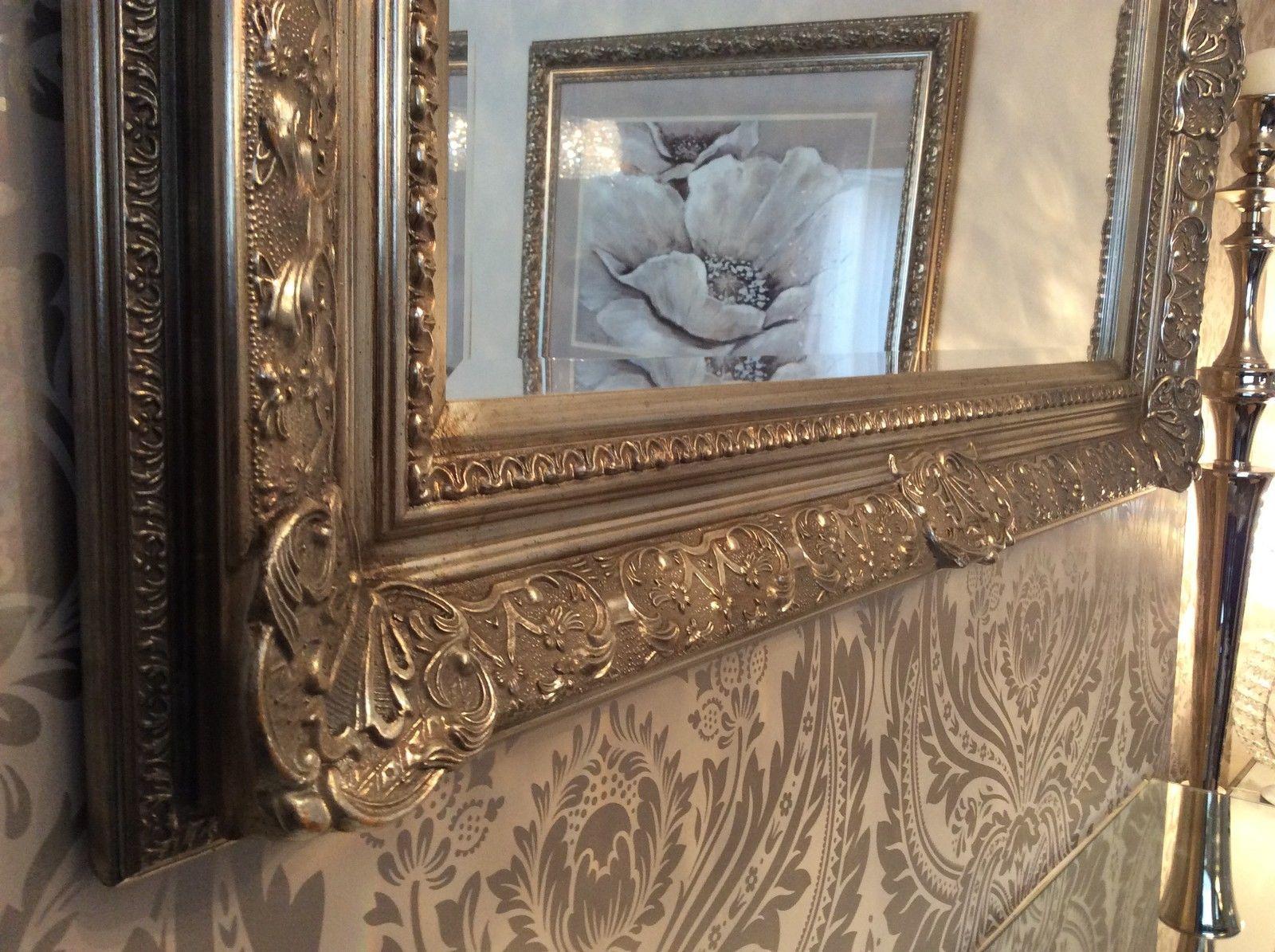 Decorative Antique Silver Wall Mirror